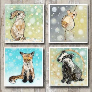 *NEW* Winter Woodland Card Collection