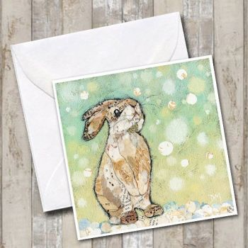 Winter Rabbit Card
