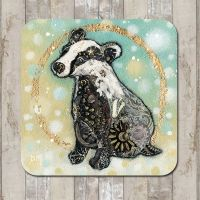 Winter Badger Tableware