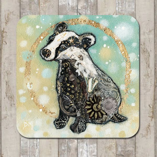 Winter Badger Tableware