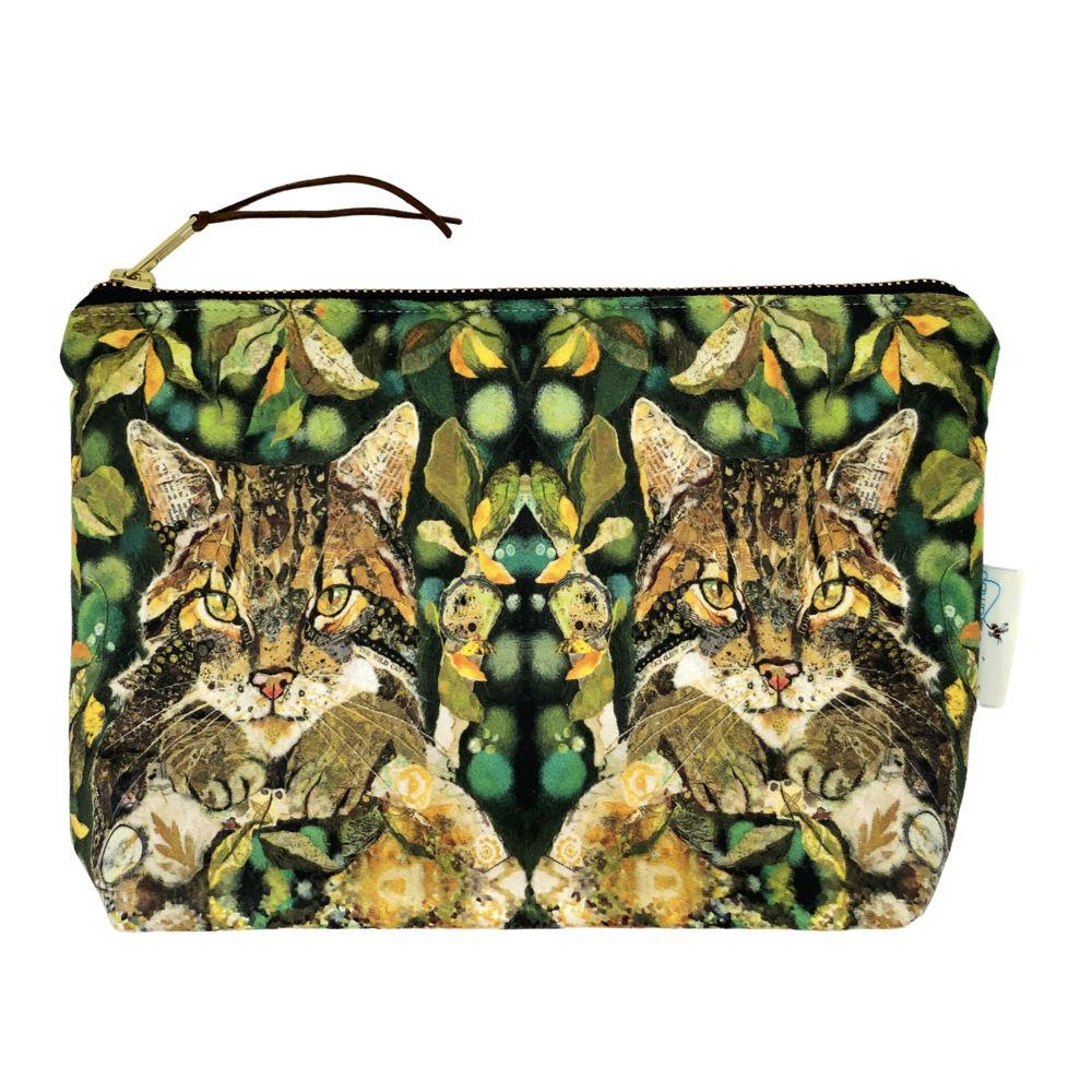 Scottish Wildcat  Make-up Bag