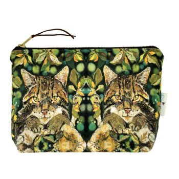 Scottish Wildcat  Make-up Bag