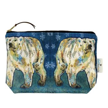 Polar Bear Blues Make-up Bag