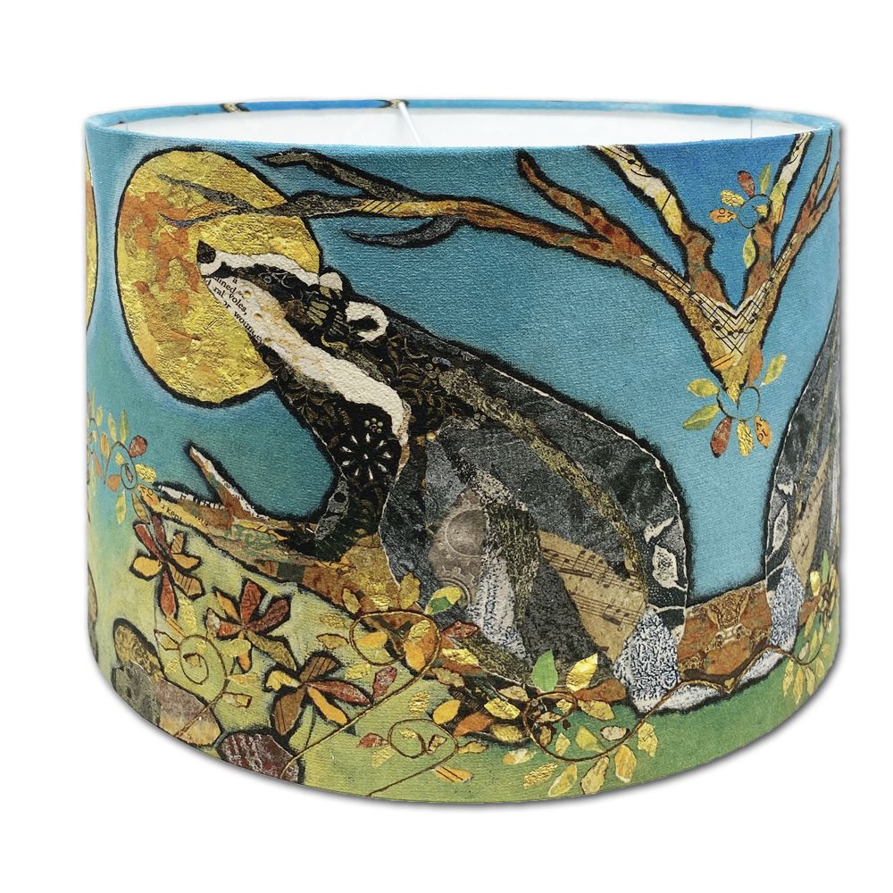 Badger & Moon - Handmade Lampshade