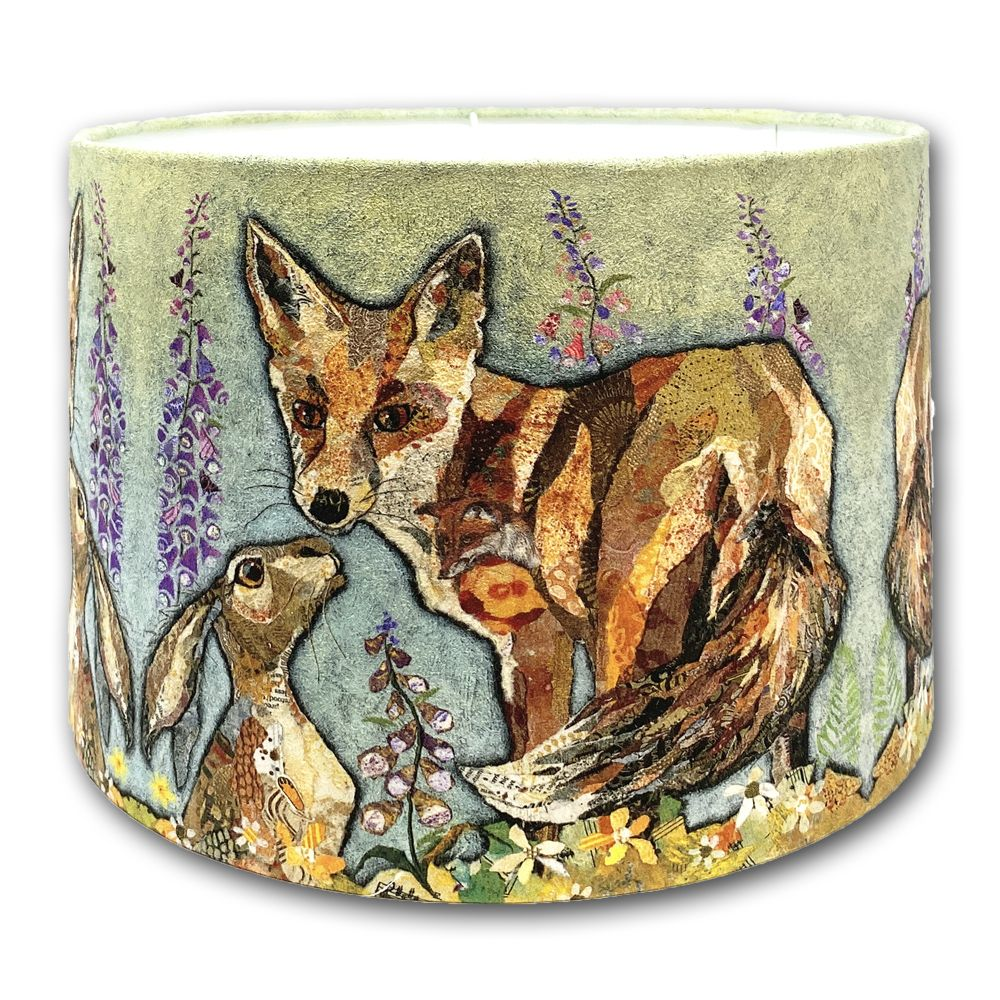 Fox & Hare Friends - Lampshade 30cms
