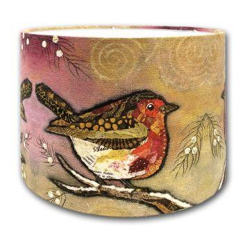 Robin on Blush - Lampshade