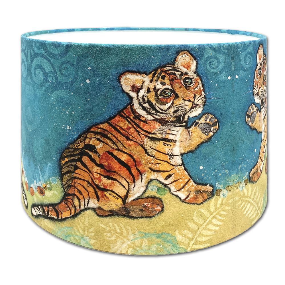 Topaz Tiger Cub -  Kids Lampshade