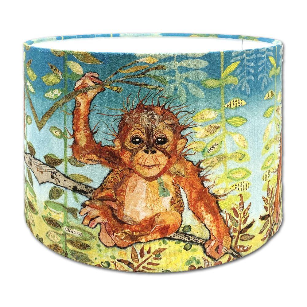 Ubah Orangutan -  Kids Lampshade