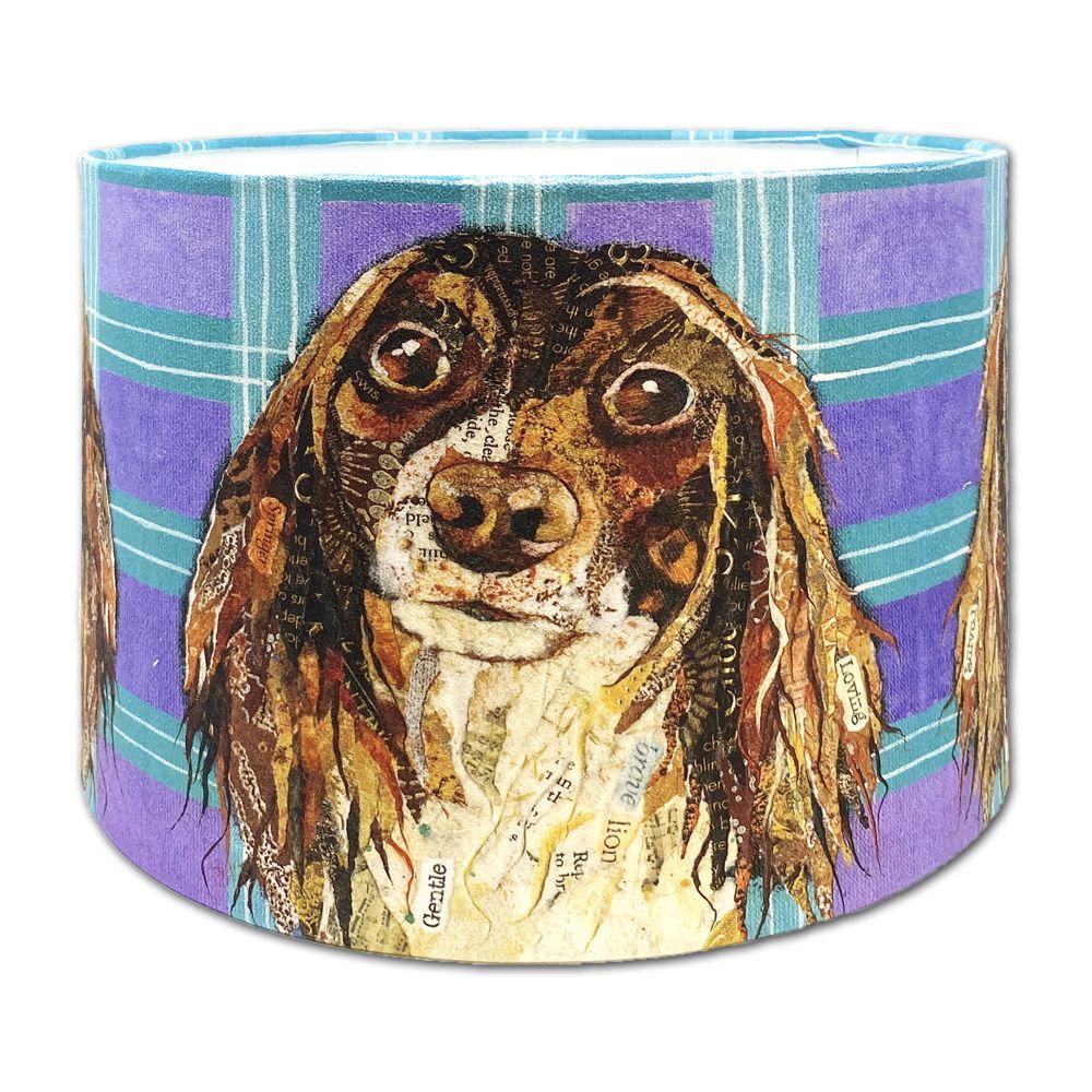 Springer Spaniel Dog -  Lampshade 30cms