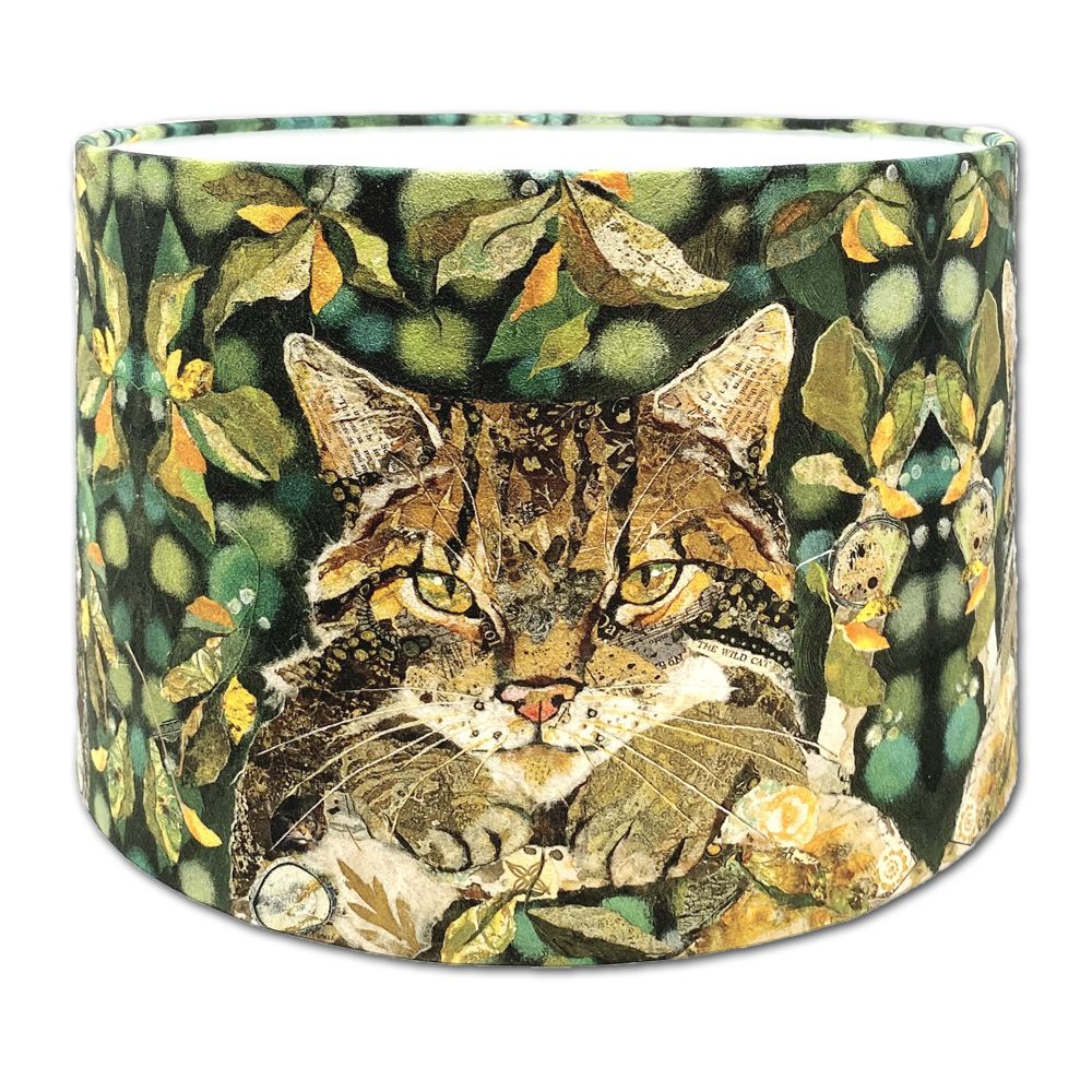 Scottish Wildcat- Lampshade 30cms