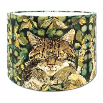 Scottish Wildcat lampshade