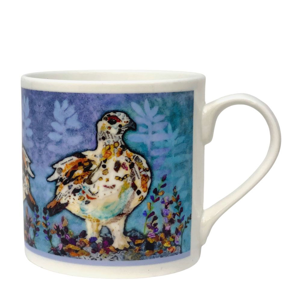 Autumn Ptarmigan Mug - Fine Bone China