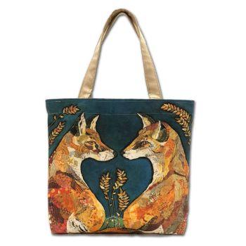 Foxheart Tote Bag
