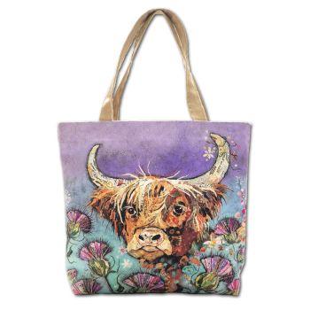 Thistle Coo Tote Bag