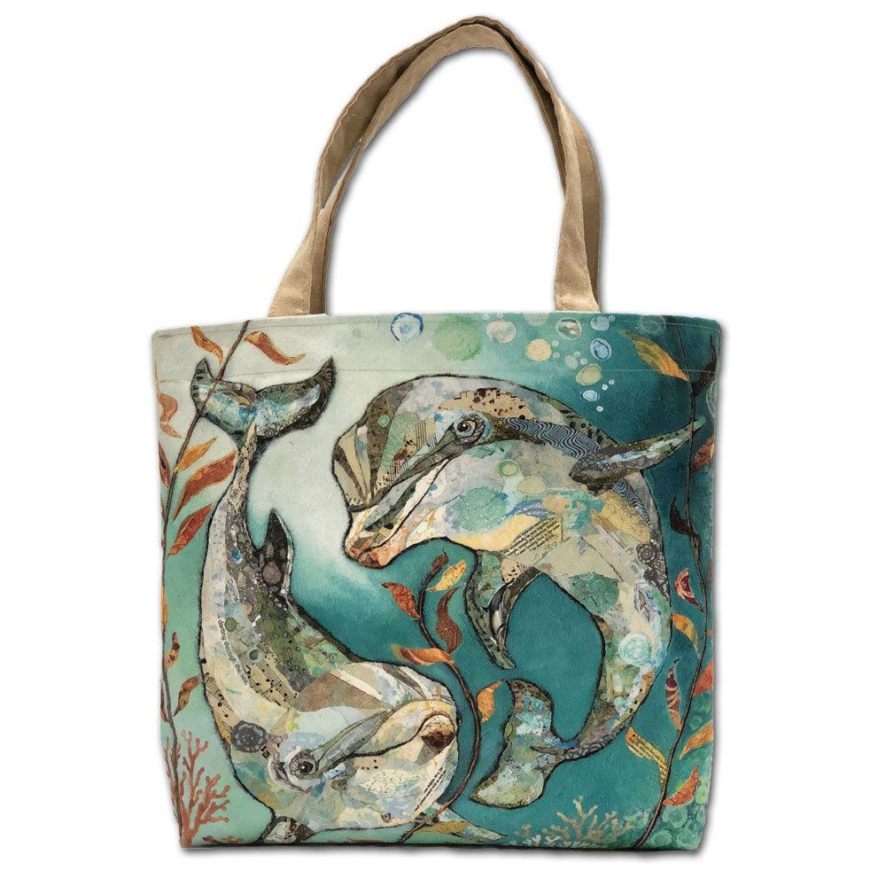 Dolphin Tote Shopper Bag