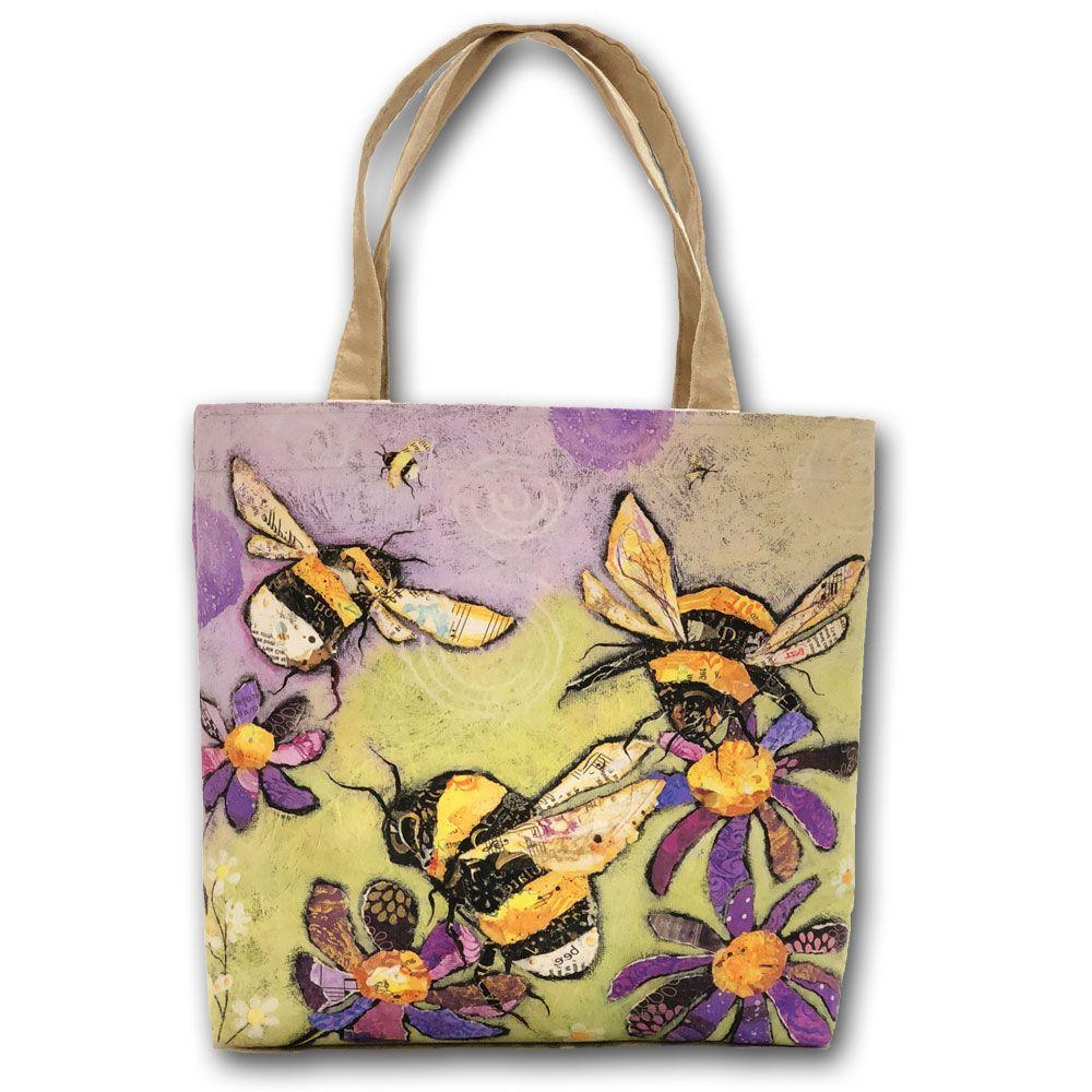 Bumble Bee Tote Shopper Bag