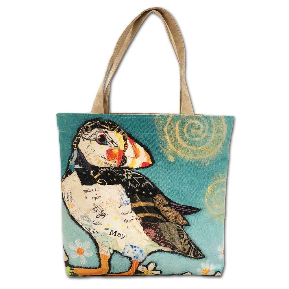 May Puffin Tote Bag