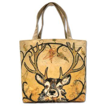 Golden Monarch Tote Bag