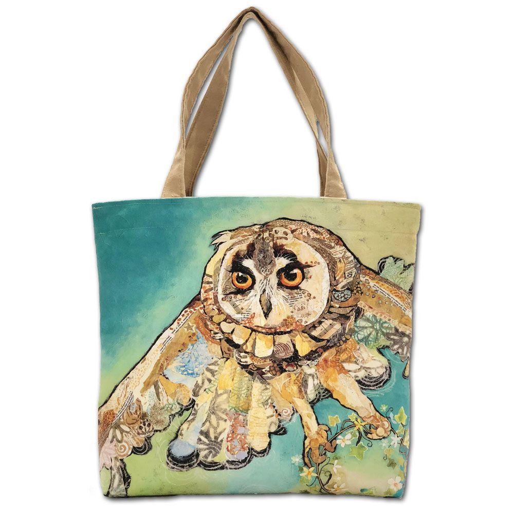 Flying Owl Luxury Tote Shopper Bag