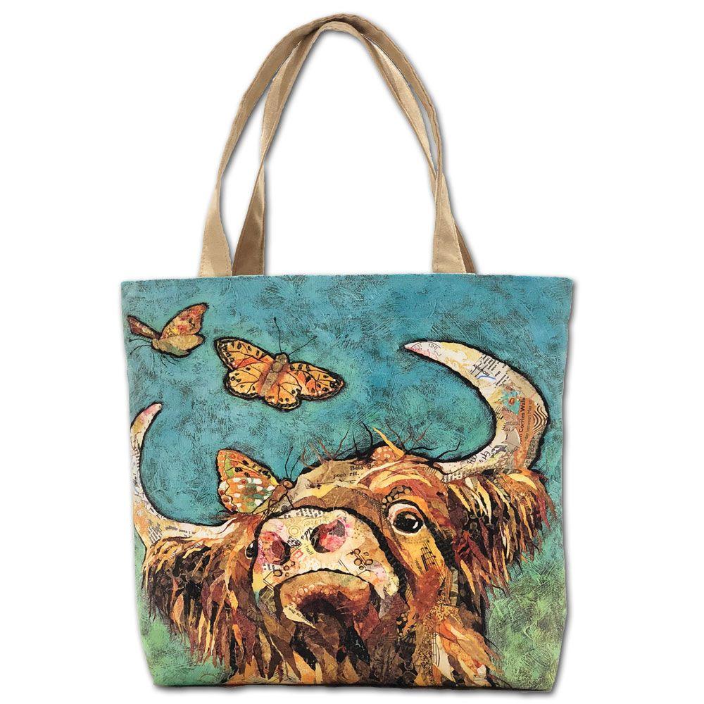 Highland Cow Tote Shopper Bag