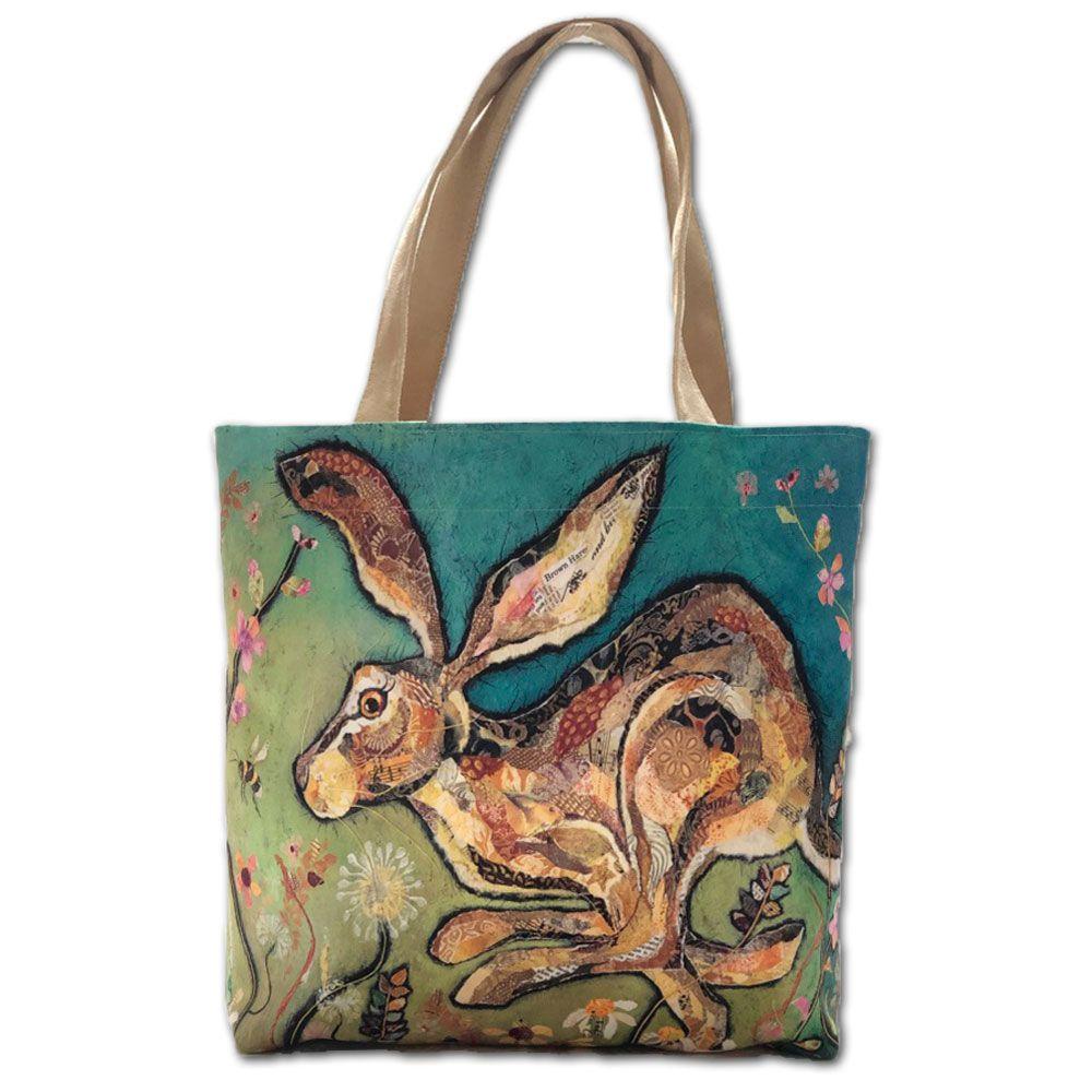 Running Hare Tote Shopper Bag