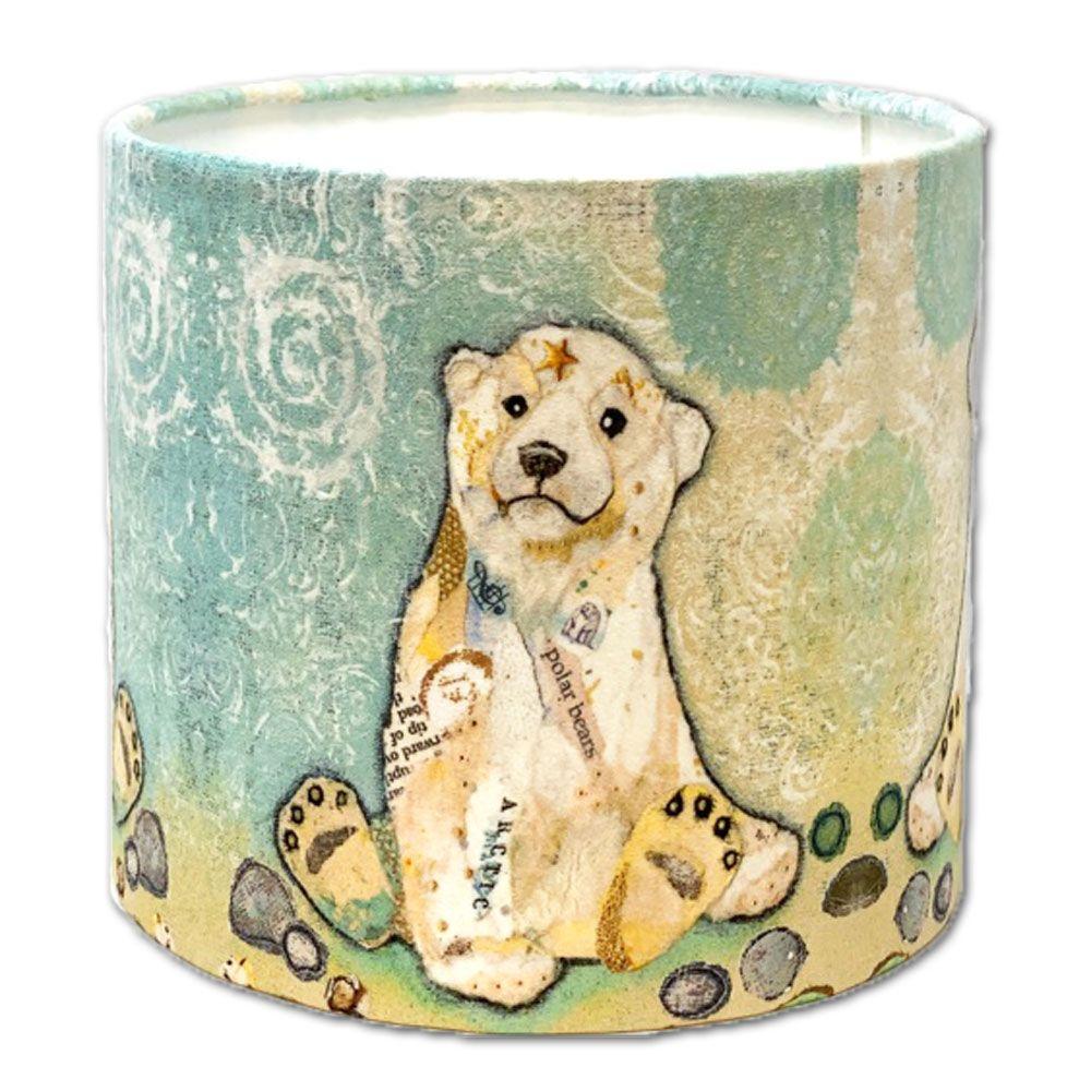 Hamish Polar Bear Cub  *SECONDS*  (Lamp fitting) 20cms