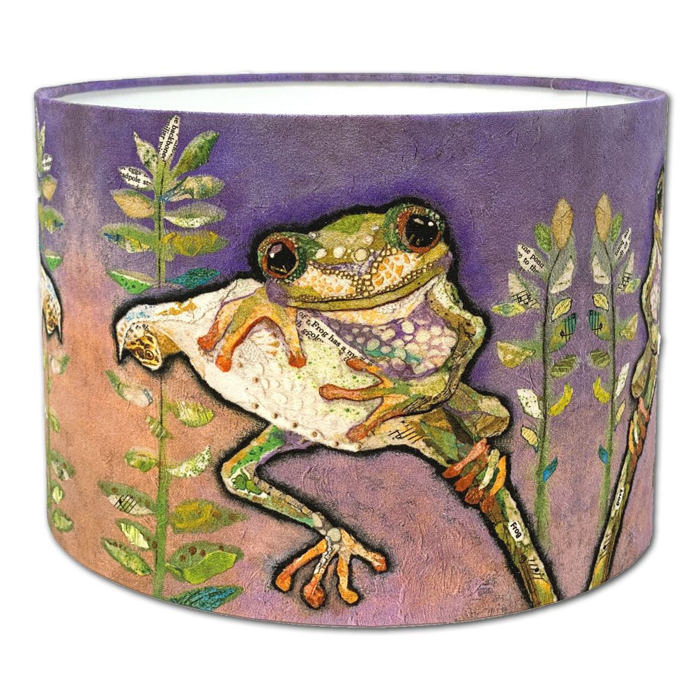 Cute Tree Frog- Lampshade