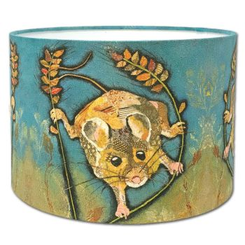 Hanging Out- Mouse Lampshade