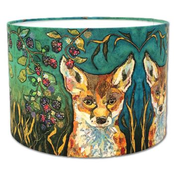 Fox in Brambles - Fox Lampshade