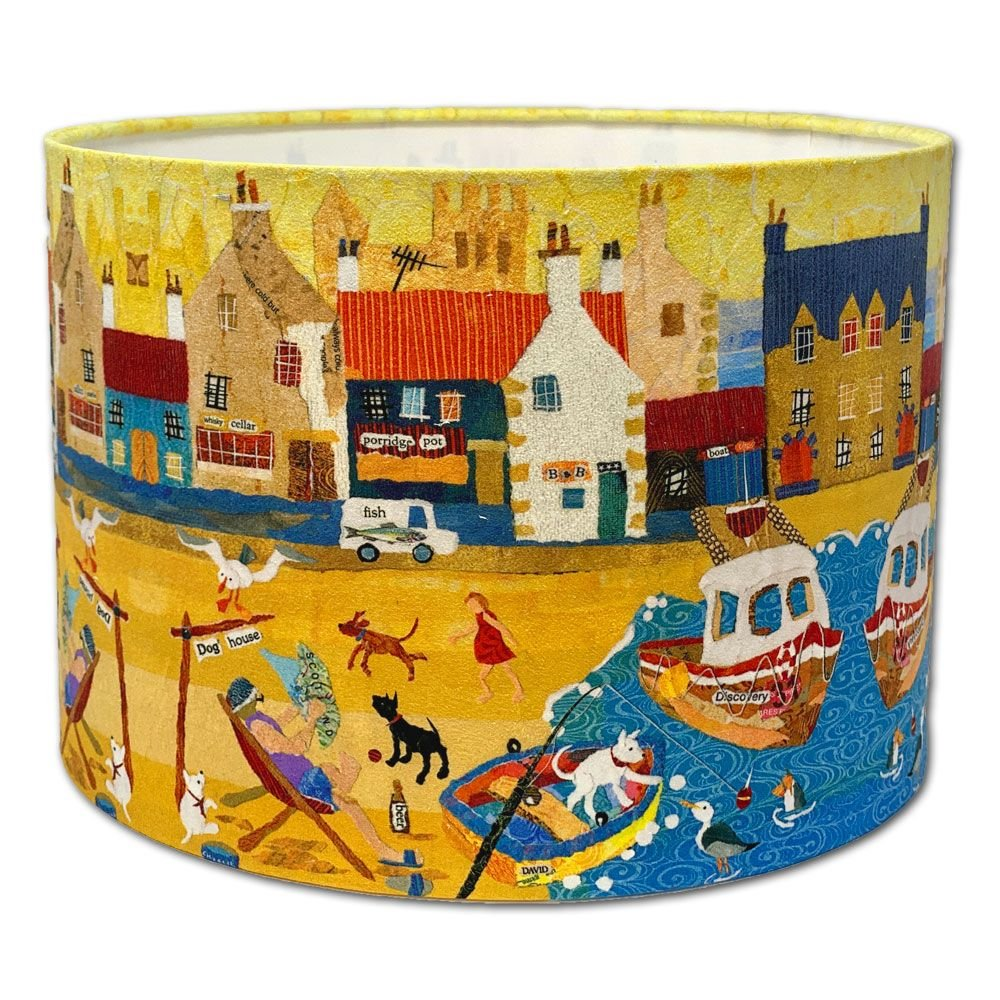 In the Doghouse Coastal - Lampshade