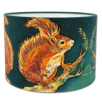 Wee Red Squirrel - Lampshade