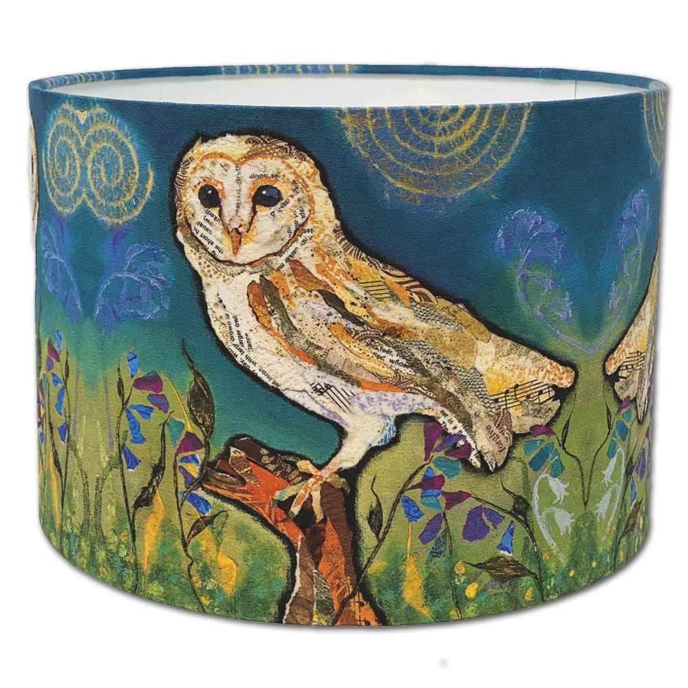 Barn Owl - Bird Lampshade