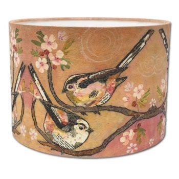 Bottoms Up - Bird Lampshade