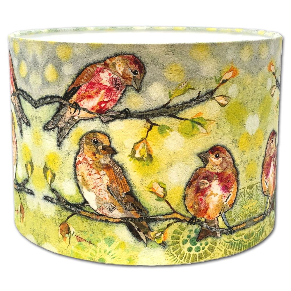 Three's a Crowd Linnet- Lampshade