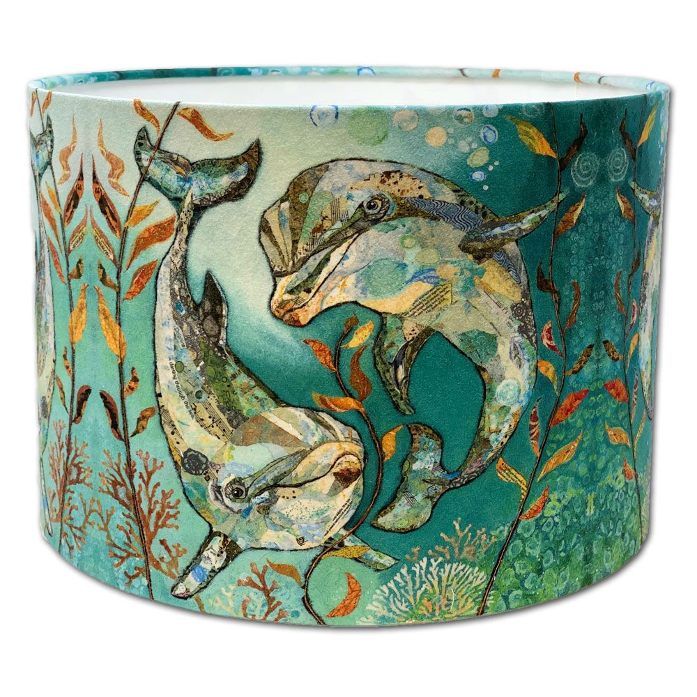 Bubbles & Squeak -  Dolphin Lampshade-30cms