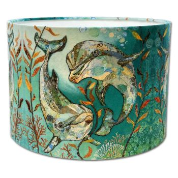 Bubbles & Squeak -  Dolphin Lampshade