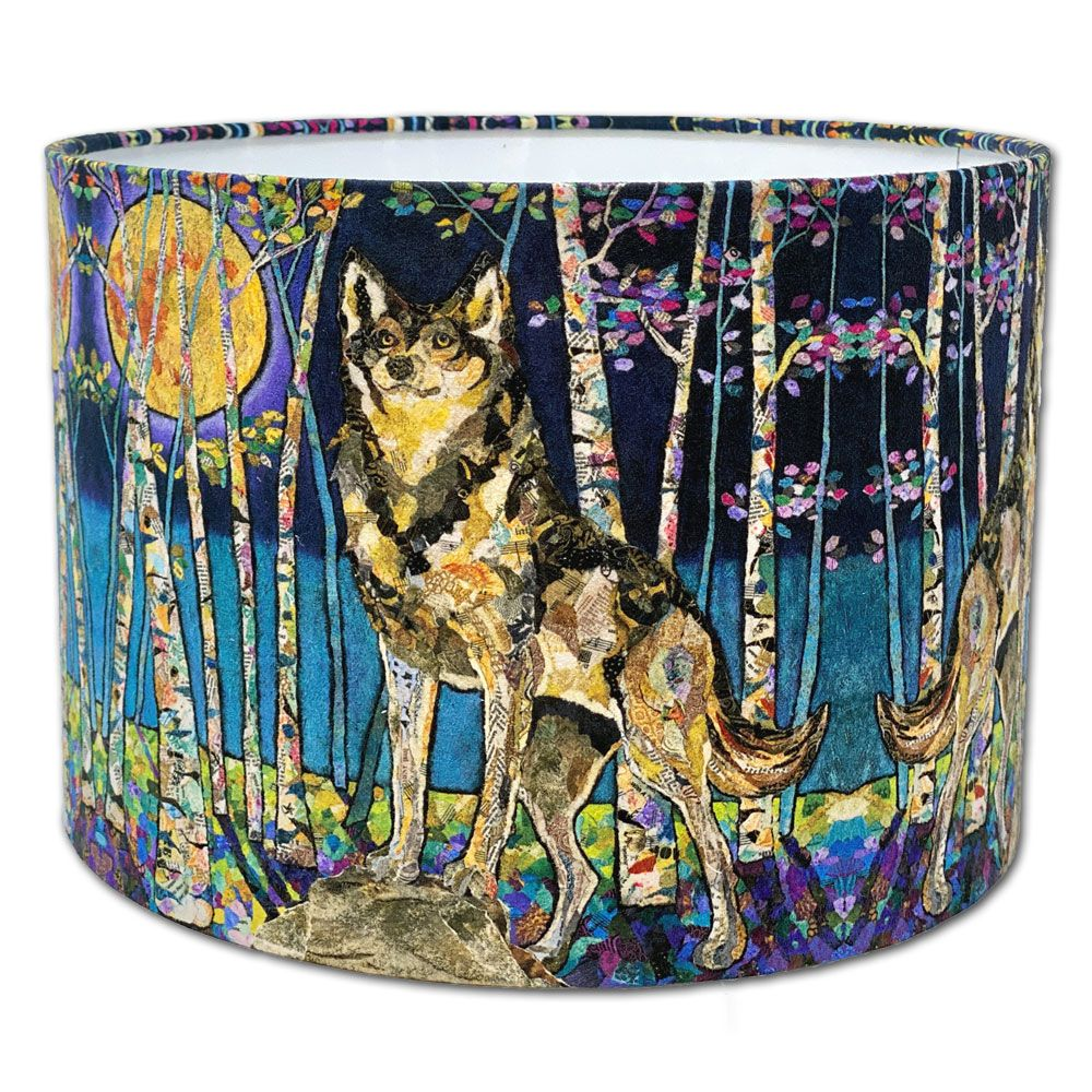 Moon Guardian Wolf - Lampshade