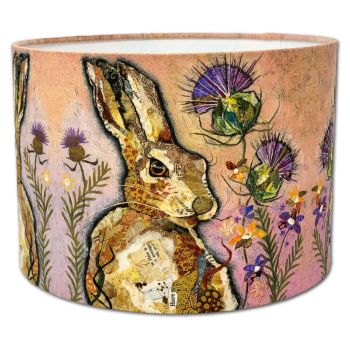 Hare & Thistles - Lampshade