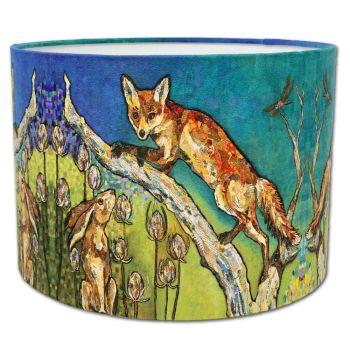 Aesop's Garden - Fox Lampshade