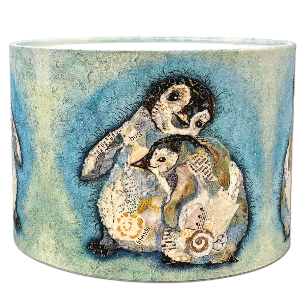 The Hug Baby Penguin Lampshade