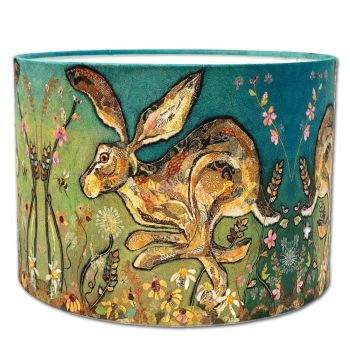 Follow the Leader - Running Hare Lampshade