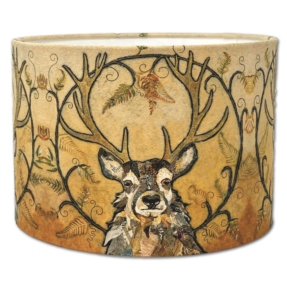 Red Deer Stag Lampshade