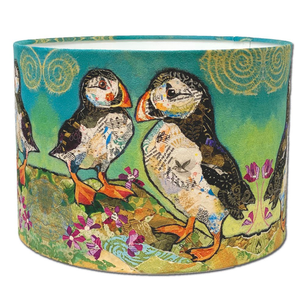 Puffin Friends Lampshade