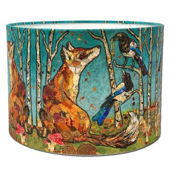 The Gift - Fox & Magpie Lampshade