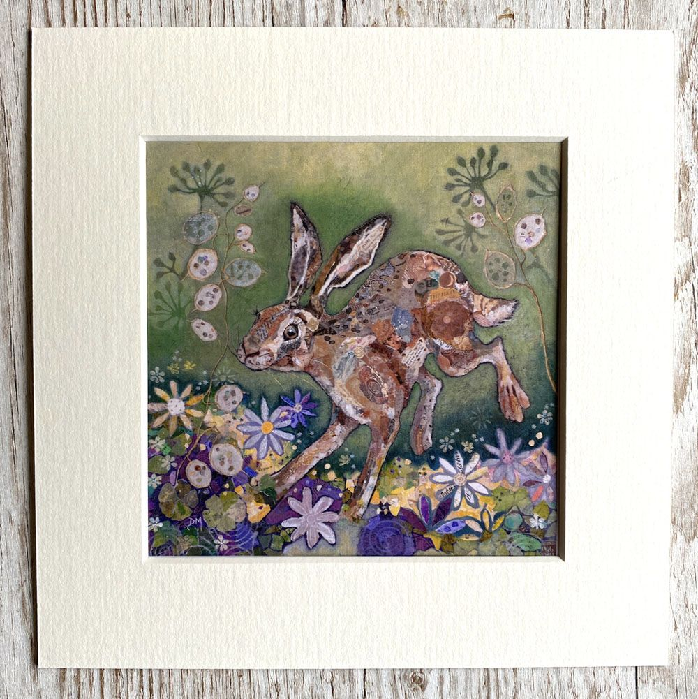 Honesty Hare Mini Print