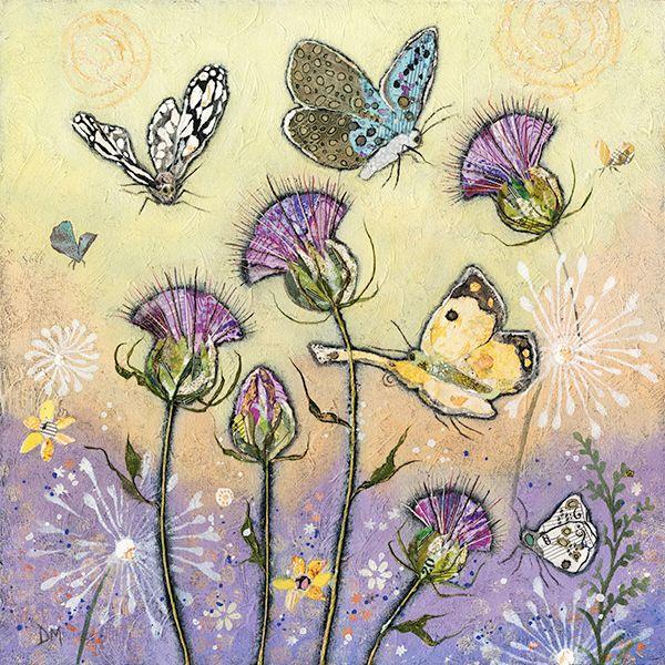 Flutterbies Mini Print