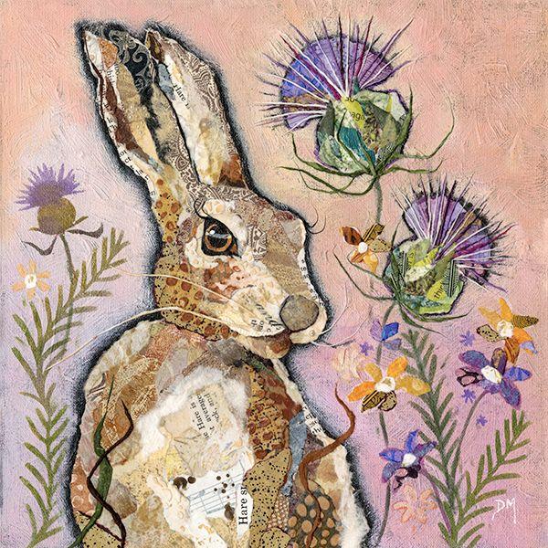 Hare & Thistle Mini Print