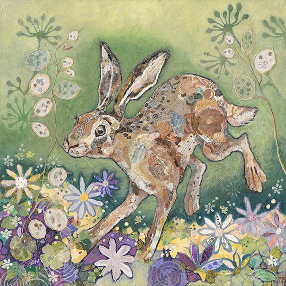 Honesty Hare Mini Print