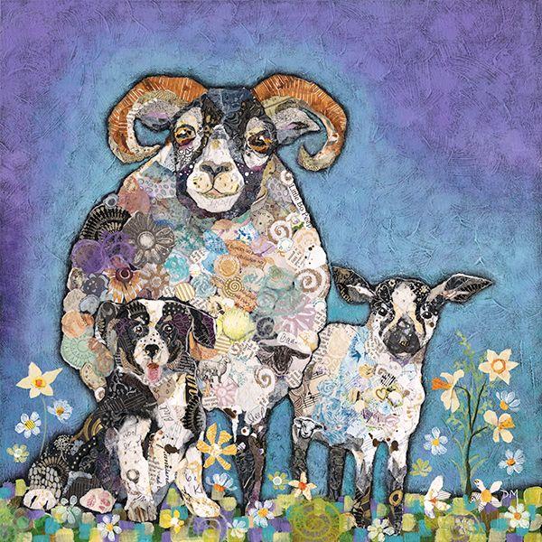 Ram-a-Lamb Mini Print