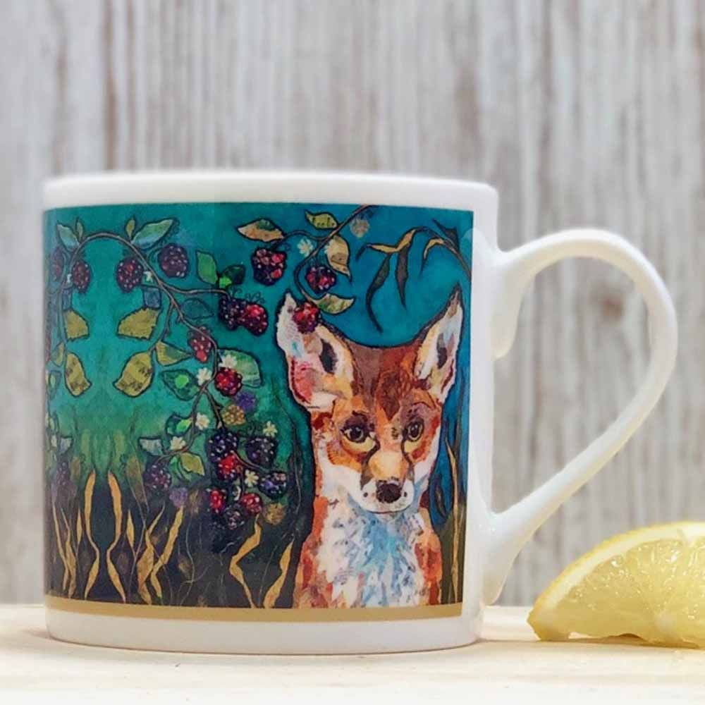 Fox in Brambles Mug - B Grade (SECONDS)